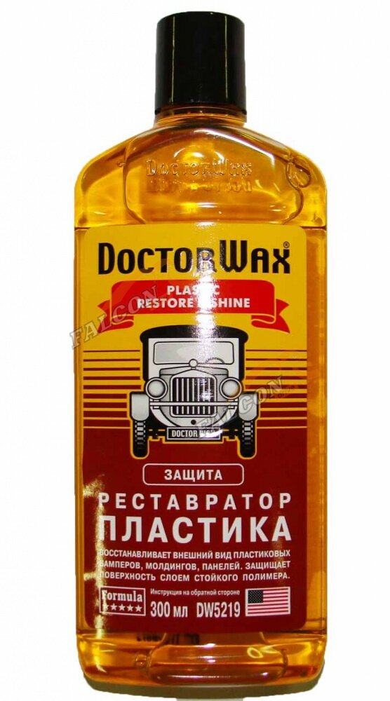 Реставратор пластика Doctor Wax DW5219 236мл