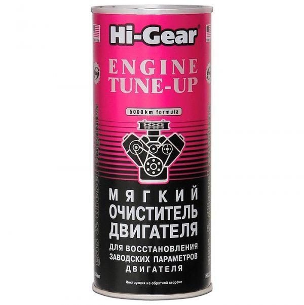 Очиститель двигателя мягкий Hi-Gear HG2207 444мл