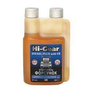 Очиститель форсунок для дизеля содержит ER Hi-Gear HG3418 237мл