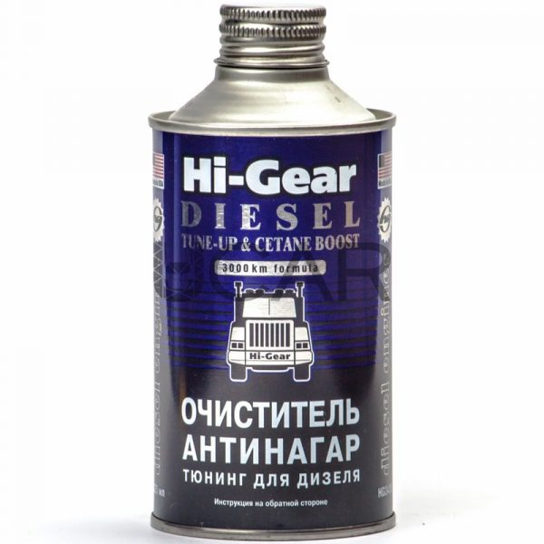 Очиститель-антинагар и тюнинг для дизеля Hi-Gear HG3436 325г