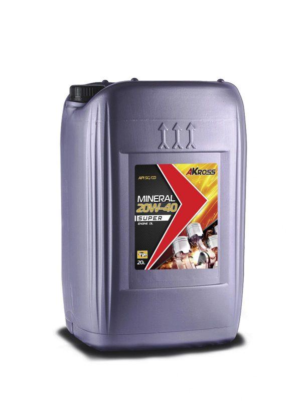Масло моторное AKross SUPER 20W-50 SG/CD 20л