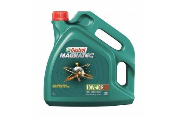 Масло моторное Castrol Magnatec 10W-40 A3/B4 SN/CF полусинтетика, 4 литра