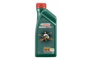 Масло моторное Castrol Magnatec 5W-40 A3/B4 SN/CF синтетика, 1 литр