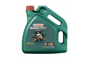 Масло дизельное Castrol Magnatec Diesel В4 10W-40 SL/CF полусинтетика, 4 литра