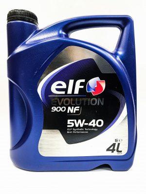 Масло моторное ELF EVOLUTION 900 NF 5W-40 SL/CF A3/B4 синтетика 4л