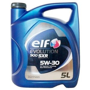 Масло моторное ELF EVOLUTION 900 SXR 5W-30 SL/CF A5/B5 синтетика 4л