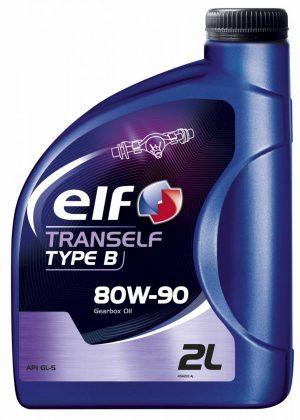 Масло трансмиссионное ELF TRANSELF TYP B 80W-90 GL-5 2л