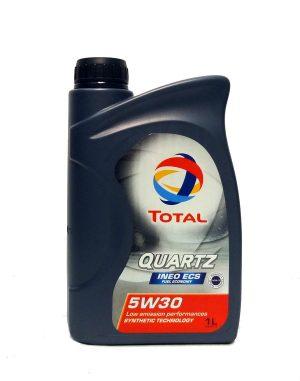 Масло моторное Total QUARTZ INEO ECS 5W-30 C2 синтетика 1л