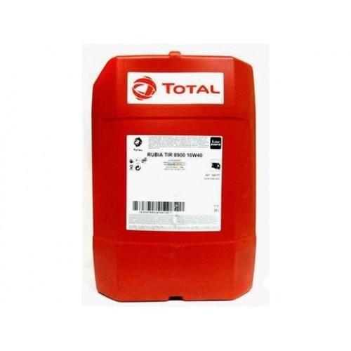 Масло дизельное Total RUBIA 8900 10W-40 Cl-4/CH-4 E6/E7/E4-99 issue 3 синтетика 20л
