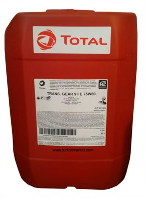 Масло трансмиссионное Total TRANSMISSION GEAR 9 FE 75W-80 GL-4 20л