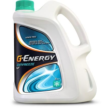 Антифриз G-Energy Antifreeze NF 40 G11 сине-зеленый 5л