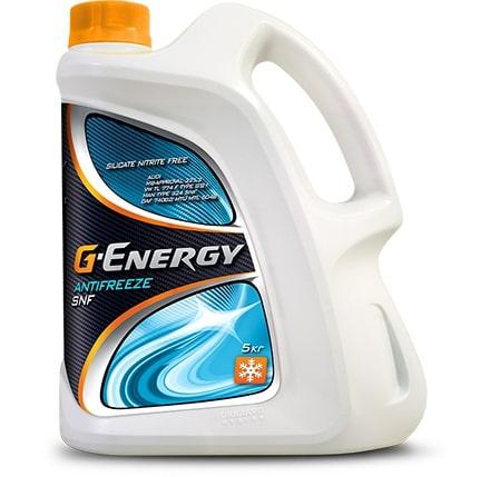 Антифриз G-Energy SNF 40 G12+ оранжевый 5л
