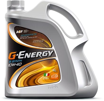 Масло моторное G-Energy S Synth 10W-40 SL/CF 4л