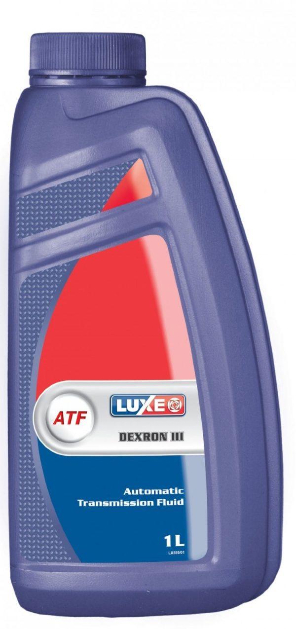 Масло трансмиссионное LUXE ATF Dexron III минеральное 1л