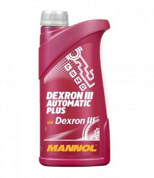 Масло трансмиссионное MANNOL Automatic ATF III-D 1л
