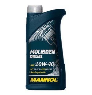 Масло дизельное MANNOL Molibden Deisel 10W-40 CG-4/SJ E2/В3/А2 1л