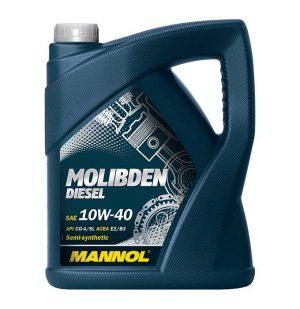 Масло дизельное MANNOL Molibden Deisel 10W-40 CG-4/SJ E2/В3/А2 5л