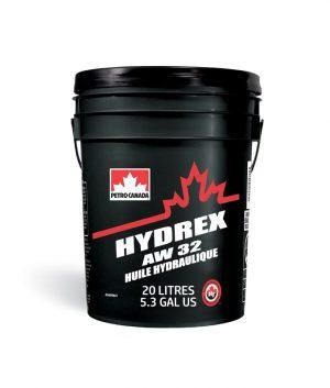 Масло гидравлическое PETRO-CANADA HYDREX AW32 CFIA N2 DIN 51524 Часть 2 HLP 20л