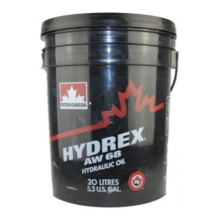 Масло гидравлическое PETRO-CANADA HYDREX AW68 CFIA N2 DIN 51524 Часть 2 HLP 20л