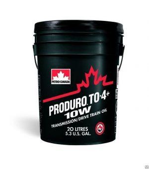 Масло трансмиссионное PETRO-CANADA PRODURO TO-4+ 10W 20л