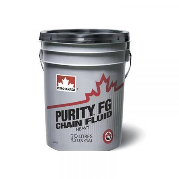 Масло индустриальное PETRO-CANADA PURITY FG CHAIN FLUID LIGHT 20л