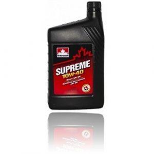 Масло моторное PETRO-CANADA SUPREME 10W-40 SN полусинтетика 1л