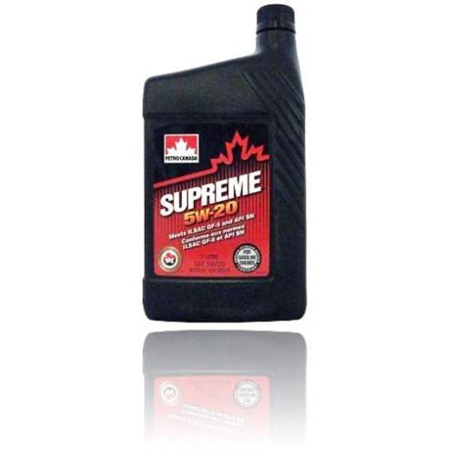 Масло моторное PETRO-CANADA SUPREME 5W-20 GF-5 SN синтетика 1л