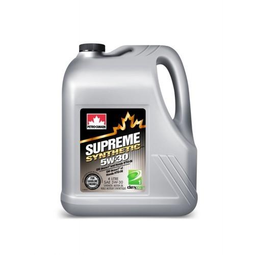 Масло моторное PETRO-CANADA SUPREME SYNTHETIC 5W-30 GF-6 SР синтетика 5л