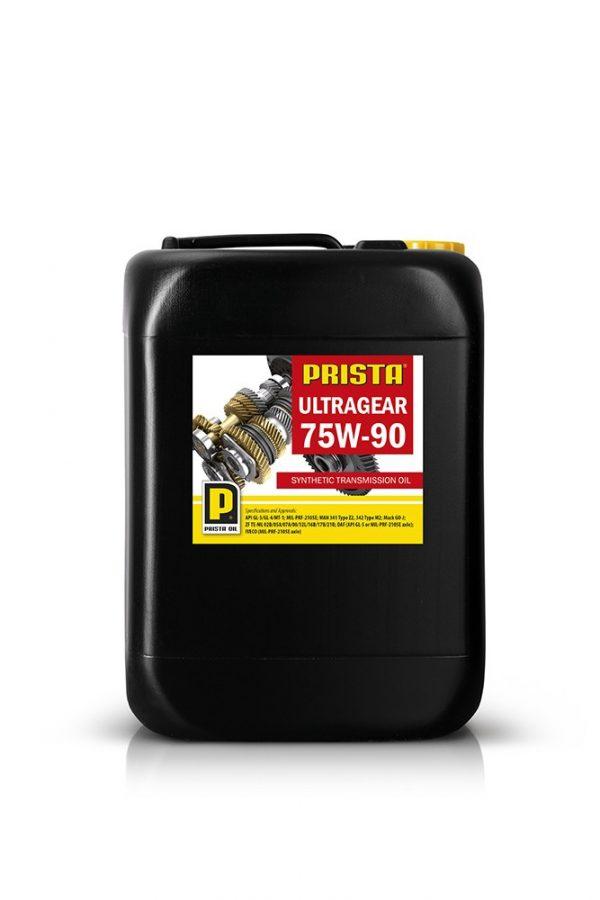 Масло трансмиссионное PRISTA ULTRAGEAR SYNTHETIC 75W-90 GL-5/GL-4 20л
