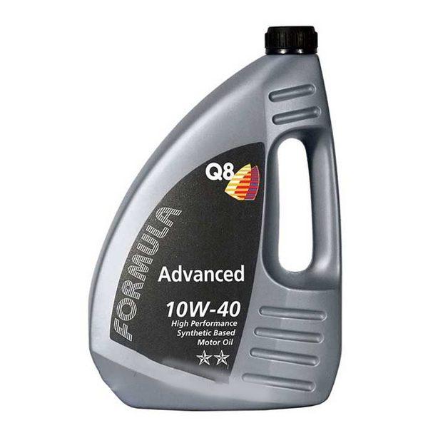 Масло моторное Q8 F Advanced 10W-40 SN/CF A3/B3/B4 полусинтетика 4л