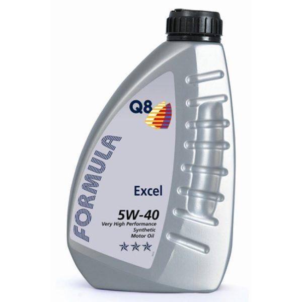 Масло моторное Q8 F Excel 5W-40 SN/CF A3/B4 синтетика 1л
