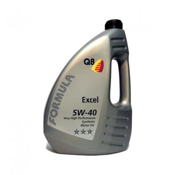 Масло моторное Q8 F Excel 5W-40 SN/CF A3/B4 синтетика 4л