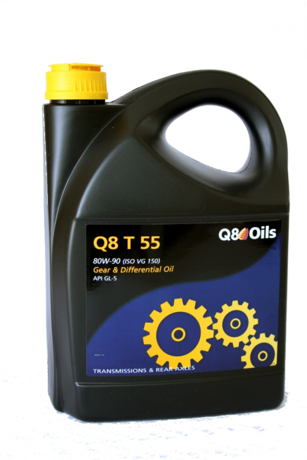 Масло трансмиссионное Q8 T 55 80W-90 GL-5 5л