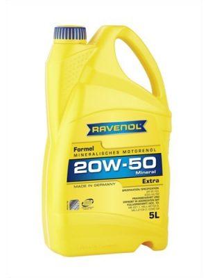 Масло моторное RAVENOL Extra 20W-50 SF/CD A2/B2 5л
