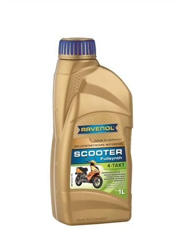 Масло четырехтактное RAVENOL Scooter 4-TAKT 1л