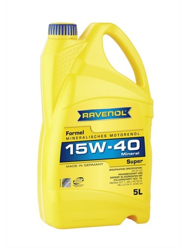Масло моторное RAVENOL Super 15W-40 SF/CD A2/B2 5л