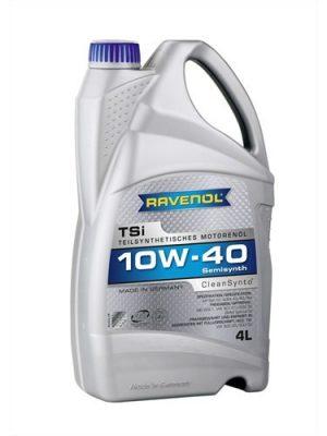 Масло моторное RAVENOL TSI 10W-40 SN/CF A3/B4 полусинтетика 1л