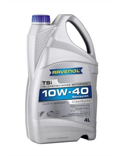 Масло моторное RAVENOL TSI 10W-40 SN/CF A3/B4 полусинтетика 5л