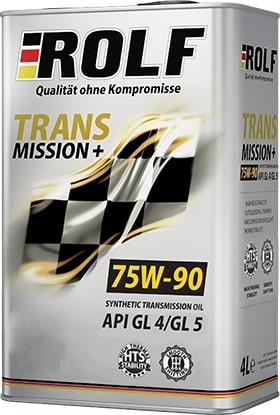 Масло трансмиссионное ROLF Transmission plus 75W-90GL-4/5 1л