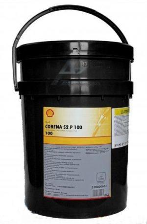 Масло компрессорное Shell CORENA S2 Р100 ISO 6743-3A-DAA 20л