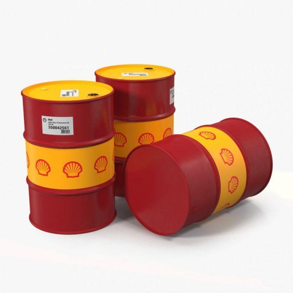 Масло моторное Shell Helix HX8 5W-40 SN A3/B4 синтетика, бочка 209 литров