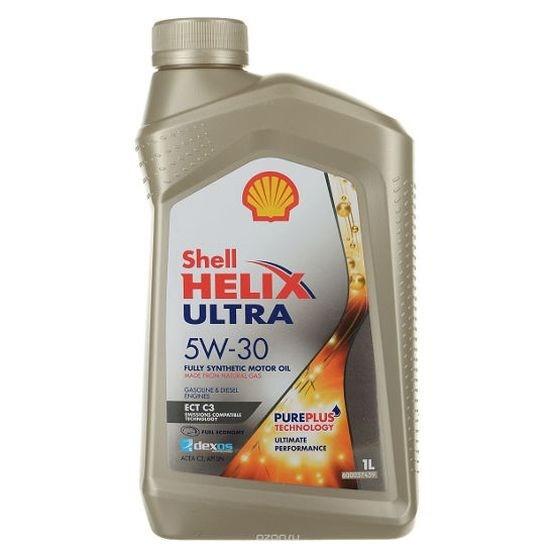 Масло моторное Shell Helix Ultra ECT C3 5W-30 SN синтетика, 1 литр