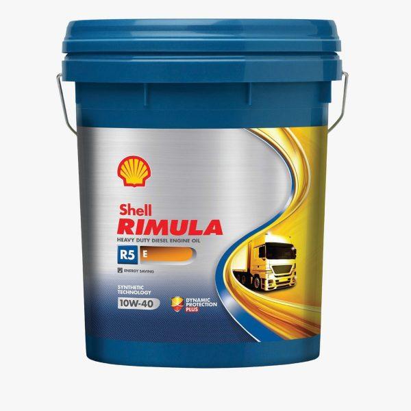 Масло дизельное Shell Rimula R5 E 10W-40 CI-4/CH-4/CG-4/CF-4/CF E7/E5/E3 полусинтетика 20л