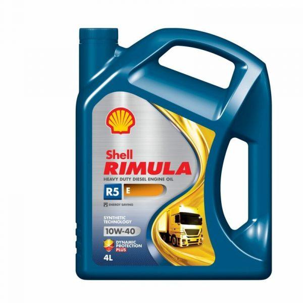Масло дизельное Shell Rimula R5 E 10W-40 CI-4/CH-4/CG-4/CF-4/CF E7/E5/E3 полусинтетика 4л