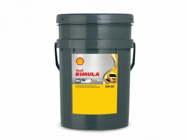 Масло дизельное Shell Rimula R6 МE 5W-30 E4 CF синтетика 20л