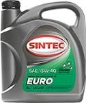 Масло моторное SINTEC EURO 15W-40 SJ/CF 4л