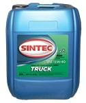 Масло дизельное SINTEC TRUCK 15W-40 CI-4/SL 20л