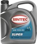 Масло моторное SINTEC Супер 15W-40 SG/CD 5л
