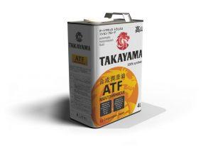 Масло трансмиссионное TAKAYAMA ATF Multivechicle 4л