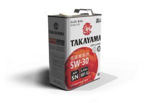 Масло моторное TAKAYAMA 5W-30 GF5/API SN синтетика 4л